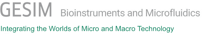 GeSiM Bioinstruments and Microfluidics Logo
