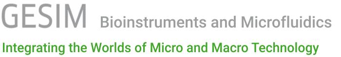 GeSiM Bioinstruments and Microfluidics Logo