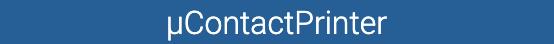 µContactPrinter